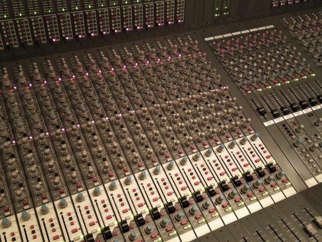Studioaufnahme mit einer Band